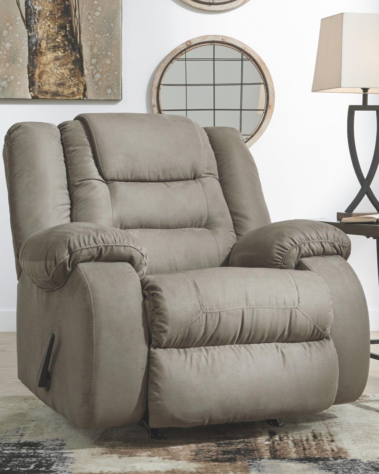 Astounding Signature Design Mccade Cobblestone Rocker Recliner Unemploymentrelief Wooden Chair Designs For Living Room Unemploymentrelieforg