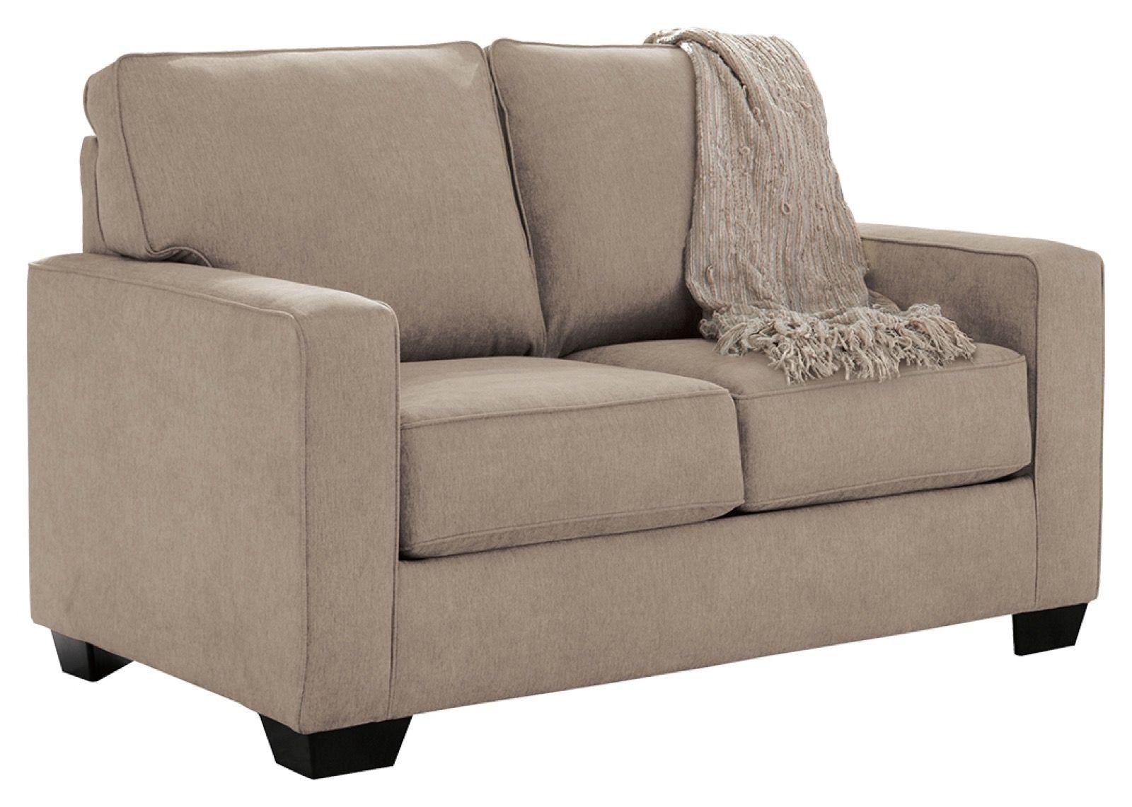 - Signature Design Zeb Quartz Twin Sofa Sleeper - Sofas - Living