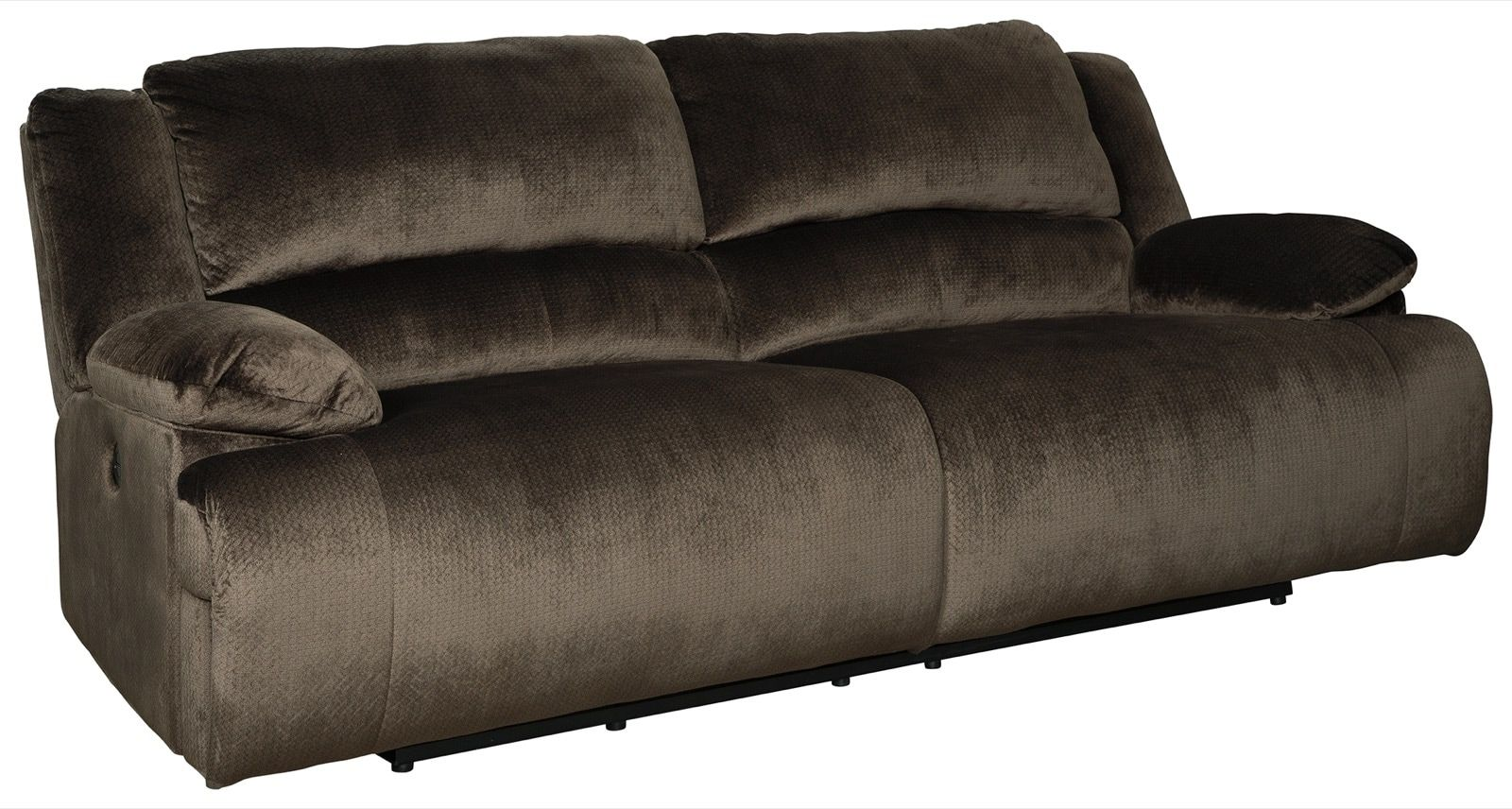 Signature Design Clonmel Chocolate 2 Seat Reclining Power Sofa