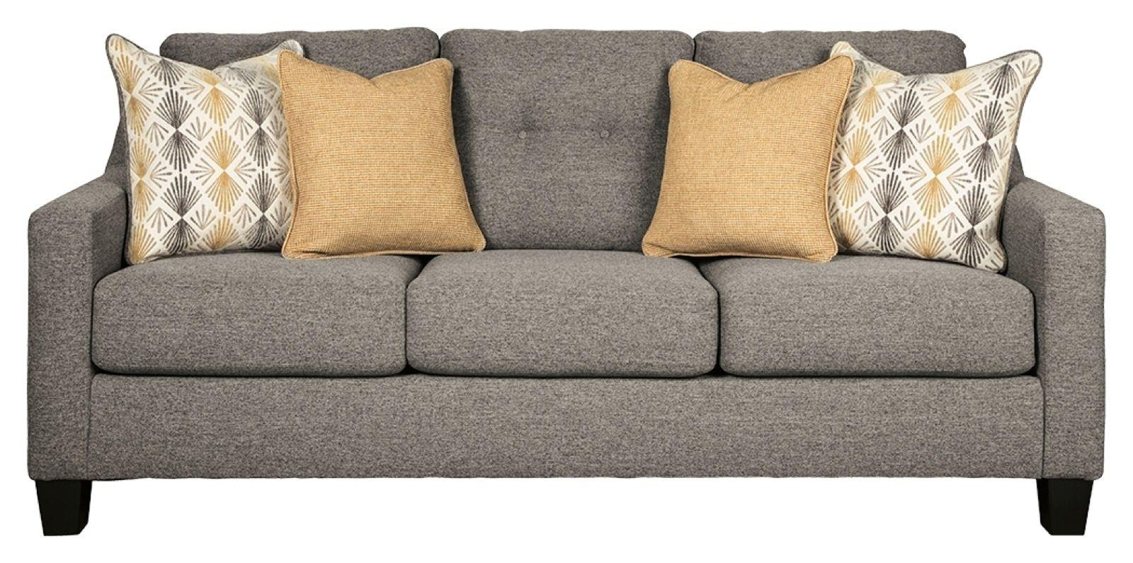 Benchcraft Daylon Graphite Queen Sofa