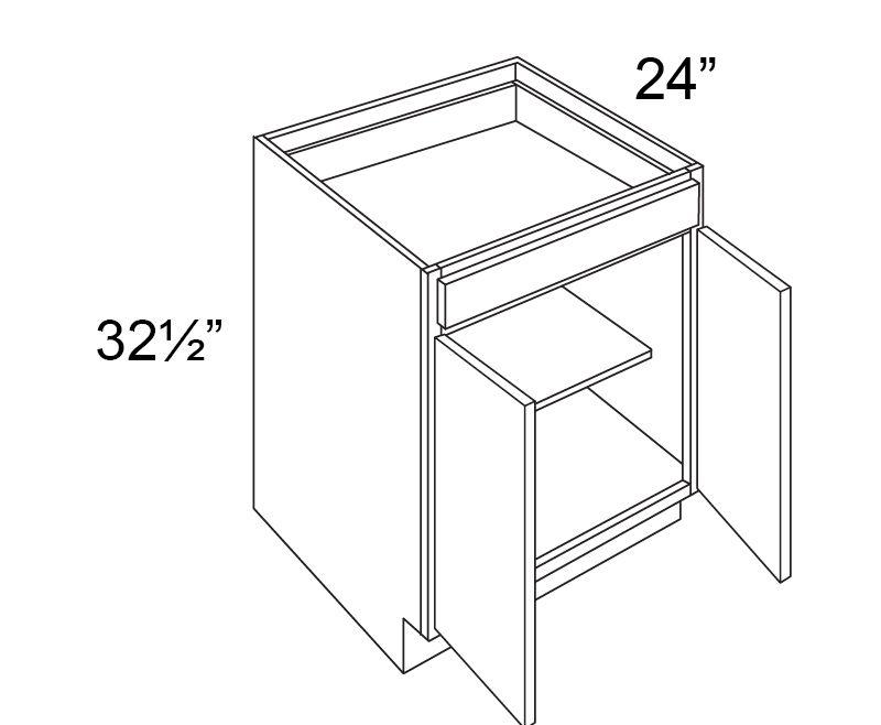 Fabuwood Value Hallmark Pecan 30w 24d Double Door Base Cabinet Vanities Kitchen Cabinets Kitchen