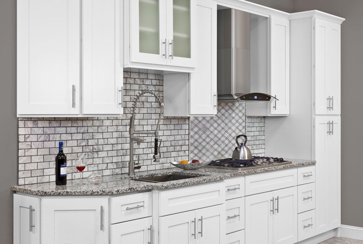 LessCare Alpina White 10 x 10 Kitchen - 10 x 10 Kitchen ...