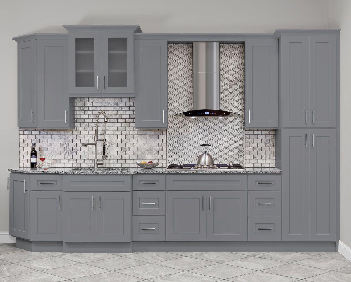 Lesscare Colonial Gray 10 X 10 Kitchen 10 X 10 Kitchen Cabinets Kitchen Cabinets Kitchen