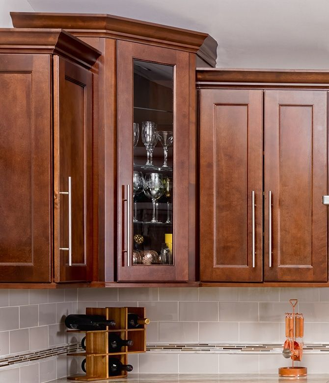 Fabuwood Allure Fusion Chestnut Cabinets - Kitchen ...