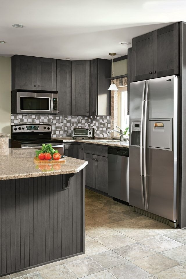 Wolf Classic Expression Dartmouth Grey Stain 10 X 10 Kitchen 10 X 10 Kitchen Cabinets Kitchen Cabinets Kitchen